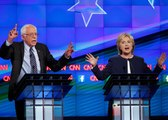 Hillary Clinton and Bernie Sanders Democratic Debate, Chris Christie and Carly Fiorina Drop Out After New Hampshire