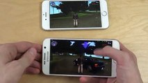 GTA Liberty City Stories Samsung Galaxy S6 Android 6.0 Beta vs. iPhone 6S - Gameplay Comparison! (Funny)