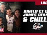 Bigflo et Oli avec James Deano et Chilla en live dans Planète Rap !