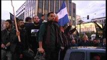 Agricultores toman Atenas en protesta contra la reforma de pensiones