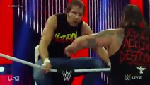 Roman Reigns, Dean Ambrose & Randy Orton vs. Bray Wyatt, Luke Harper & Sheamus_ Raw, Aug. 3, 2015