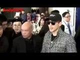 Rain Jung Ji-Hoon 在香港 機場 2016年1月29日。