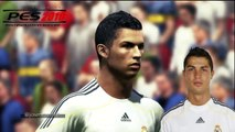 Cristiano RONALDO from PES 3 to PES 2016 (vs Real Face Comparison)