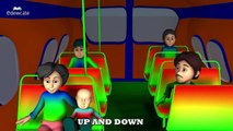 Wheels on the Bus Collection | Red Bus Song | Blue Bus Song | Green Bus Song | Orange Bus