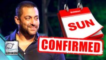 Salman Khans Sultan To Release on SUNDAY