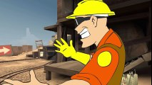[TF2 Animation] Don't Touch That - Engineers in Half a Nutshell