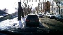 Car Driver rolls down the hill FAIL CRASH ACCIDENT CAR CRASH VIDEOS