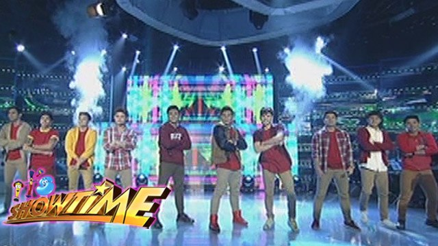 "It's Showtime: Hashtags perform ""Because of You"""
