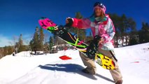 Snowboarding How To Backside 360 a jump with Kimmy Fasani - TransWorld SNOWboarding