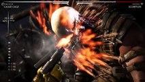 Mortal Kombat X ~ Cassie (Brawler) & Kenshi (Kenjutsu) ~ Combo Video HQ