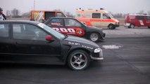 Honda Civic Turbo Vs. Ford Fiesta RS Turbo II