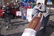 A Napoli un funerale per la Juve
