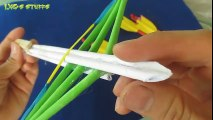 How to make a Paper Crossbow - (Mini Crossbow) - YouTube | 120x213