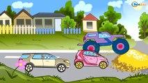 ✔ Мультики для Детей все серии! Монстр Трак и Эвакуатор. Cars Cartoons / Compilation for kids ✔