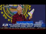 """Bill Clinton Lashes Out At Sanders Supporters Over """"Sexist"""" Attacks - On The Record"""