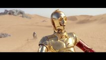 STAR WARS- THE FORCE AWAKENS Promo Clip - C-3PO & R2-D2 Meet BB-8 (2015) Epic Space Opera Movie HD