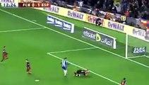 Барселона 1 - 1  Эспаньол гол МЕССИ. ИСПАНИЯ- Кубок Испании 06.01.2016