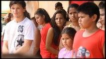 Afectados por inundaciones de Asunción, una vida de refugiados de guerra
