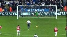 гол МИТРОВИЧА Ньюкасл Юнайтед 2 - 2  Манчестер Юнайтед АНГЛИЯ- Премьер-лига