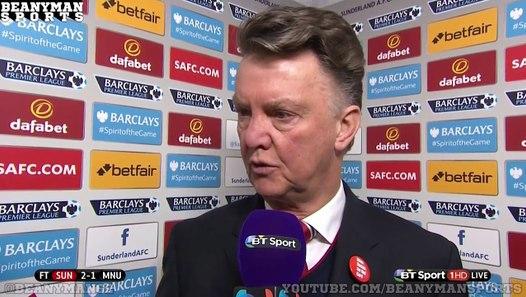 Sunderland 2-1 Manchester United