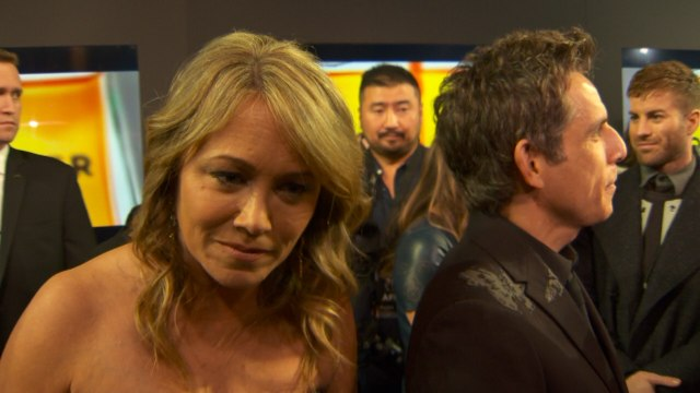 Christine Taylor Talks About Ben Stiller And Their Kids At 'Zoolander 2' Premiere