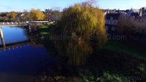 Rochefort sur Loire en automne, Val de Loire, France