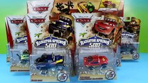 DIsney Pixar Cars The Radiator Springs 500 1/2 Race Cars & Off Road Rally Race Track Set U