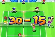 Mario Tennis: Power Tour Exhibition Match - Mario & Peach VS. Tom & Ace