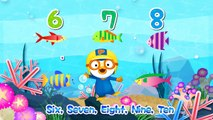 [Pororos Little Story Music] #12 1,2,3,4, Once I Caught A Fish Alive