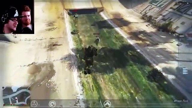 Sky VS Gaming GTA 5 PC Online Funny Moments GRENADE DODGEBALL! Sky does minecraft SkyVSGam