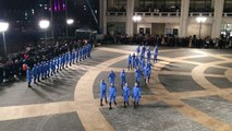 The Moncler Grenoble Fall-Winter 16/17 presentation at the Lincoln Center Plaza