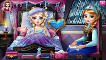 Disney Princess Frozen Tangled-Elsa,Anna and Rapunzel Flu Doctor Compilation -Baby Games HD