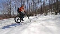 Sport : Le Fat Bike Skis, mélange original de VTT et ski !