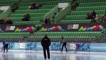Speed Skating 500m gold  Lillehammer 2016 Youth Olympic Games