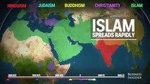 En savoir plus :  La répartition des religions dans le monde en 5 000 ans !