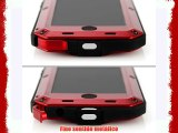 Alienwork Funda para iPhone 5/5S/5C Prueba de golpes protectora bumper case Resistente las