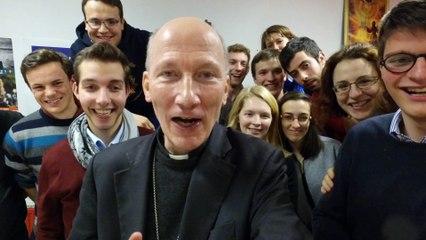 Mgr d'Ornellas t'invite aux JMJ !
