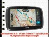 TomTom GO 6000 EU 45 - GPS para coches de 6  (IQ Routes micro SD mapas de Europa 45 países)
