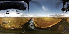 Панорамное видео 360° - Исландия - Обзор с вертолёта