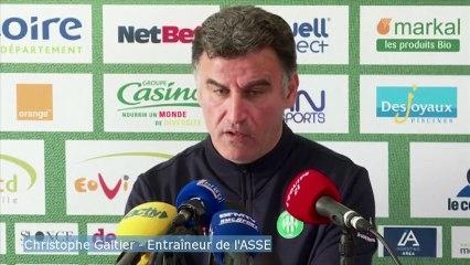 Galtier/ASSE: « Contre Monaco, nous jouons un match de Coupe d'Europe»
