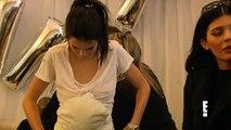 Kendall Jenner Kylie Jenner Wear Fake Baby Bumps For Kim Kardashian Hollywood Life
