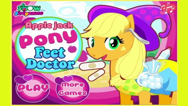 My Little Pony - Apple Jack Pony Feet Doctor online games