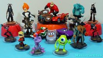 Disney Infinity Toy Playset 18 Characters PS3,Xbox360,Wii,Wii U Unboxing! 09/26/13