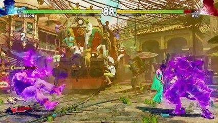 SFV  Character Introduction Series - M. Bison de Street Fighter V