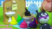 アンパンマン おもちゃ アニメ カラフルうんち❤ animekids アニメきっず animation Anpanman Toy Poo