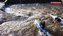 Lannion (22). Les jeunes prodiges du kayak en stage intensif