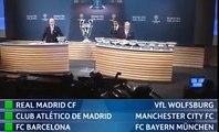 Лига чемпионов УЕФА   Жеребьевка 1⁄8 финала 2015⁄2016