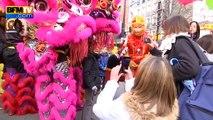Le nouvel an chinois fêté à Paris