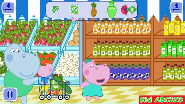 Peppa Pig Supermarket - Baby in supermarket - App for kids
