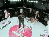 Un boxeur MMA qui a été au bout de lui-même